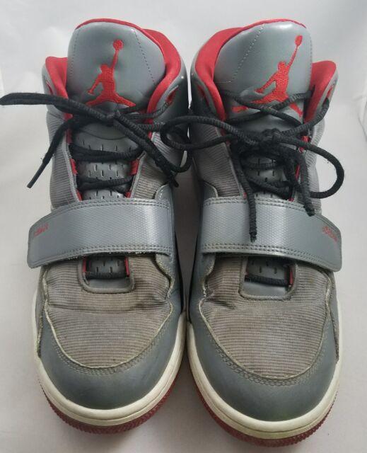 d4502785a75af9 Mens Size 10 Retro Nike Air Jordan V IV III Red Black Gray Hi Top Sneaker