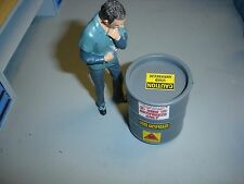 1/18 - Used Anti-Freeze DRUM for your Shop/Garage/Dioramas-SCALE