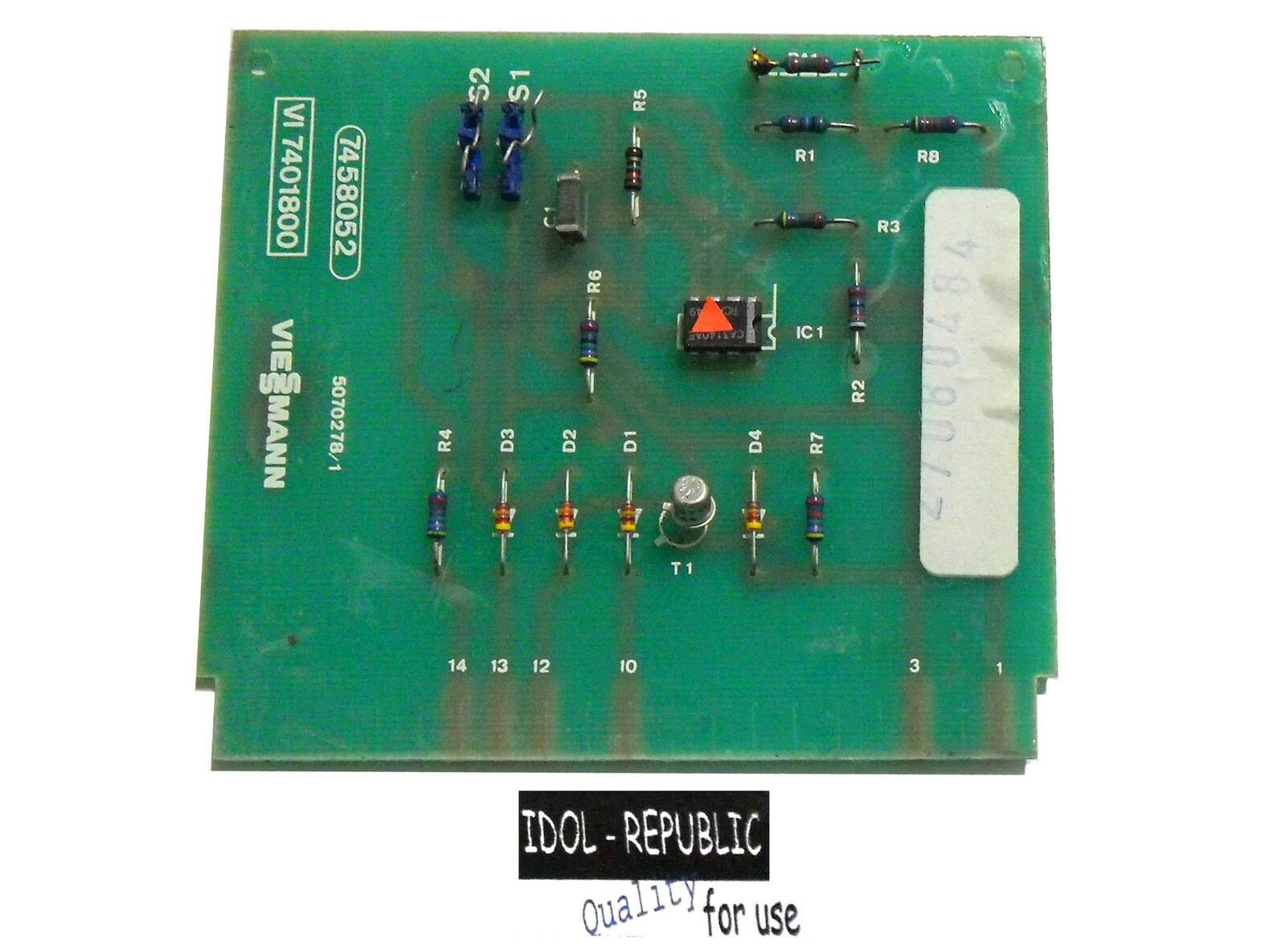 Viessmann - Platine ZKM - Tetramatik - 7401800 - 7458052 - Leiterplatte -