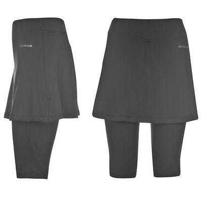 SKORT SKIRT BLACK Tights Pants SIZE UK  8 10 12 14 16 NEW NETBALL GYM