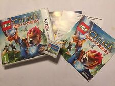 NINTENDO 2DS 3DS GAME LEGO LEGENDS OF CHIMA LAVAL'S JOURNEY +BOX INSTR' COMPLETE