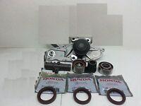 Genuine Water Pump + Complete Tensioner Kit Honda/acura V6 16