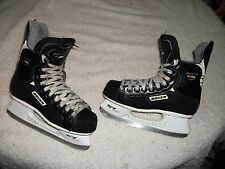 BAUER SUPREME 1000 ICE HOCKEY SKATES MENS SIZE 5 VERY NICE CONDITION LIGHTER USE