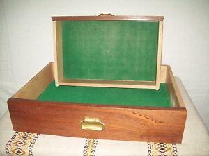 2 alte antik schublade holzkisten k stchen deko ebay. Black Bedroom Furniture Sets. Home Design Ideas