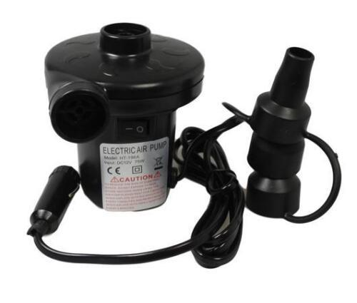 12V DC Electrical Air Pump Inflation Deflator Car Charger High Volume Air Pump
