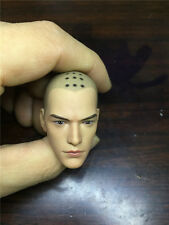 "1:6 Holy Monk Head Eye open version Head For 12"" Male Body Model Toy"