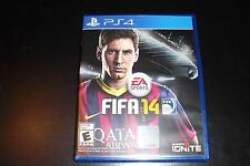 Replacement Case (NO GAME) FIFA 14 PS4 Playstation 4