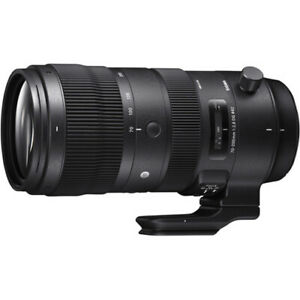 Sigma 70-200mm f/2.8 DG OS HSM Sports Telephoto Zoom Lens for Canon (590954)