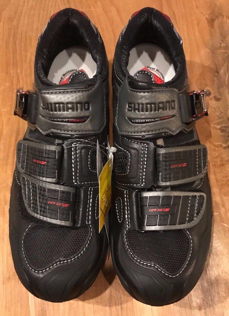 Zapato De Ciclismo De Montaña Shimano para Hombre SH-M240L, 41 Euros, Negro Nuevo Viejo Stock