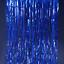 """thumbnail 10 - FOIL BACKDROP 40""""x10'  Party Fringe Curtain Decor Choose Color"""