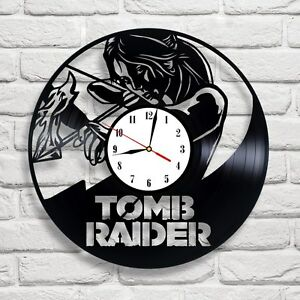 tomb raider 4 design vinyl record wall clock home art shop office rh ebay co uk home art decor's shop home art shop near me