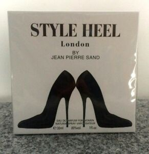 Details about Style High Heel London Perfume Gift Luxurious Ladies Jean Pierre Sand Must Have