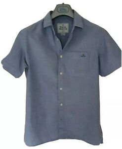 Mens-MAN-by-VIVIENNE-WESTWOOD-short-sleeve-size-I-small-Immaculate-RRP-225