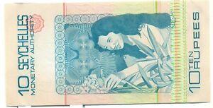 Seychelles-10-Rupees-Note-P23a-Ch-UNC-A729528