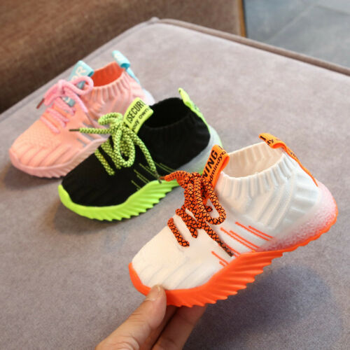 LED Children Boys Girls Light Up Sneakers Baby Luminous Shoes Trainers Kid Gifts
