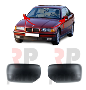 FOR BMW 3 E36 90-00 BMW 5 E34 92-96 WING MIRROR COVER CAP FOR PAINTING PAIR SET