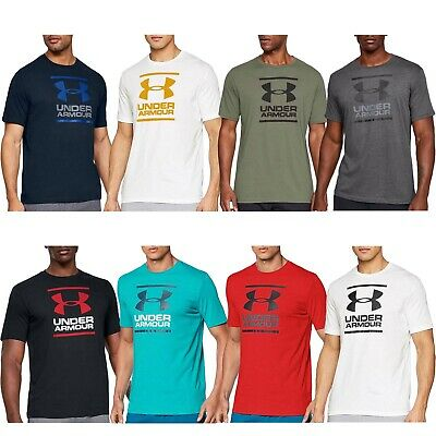 Under Armour HeatGear GL Foundation Short Sleeve Shirt Men T-Shirt 1326849-019