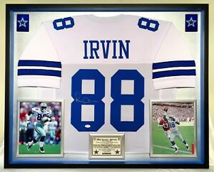 c0ac50d93be Image is loading Premium-Framed-Michael-Irvin-Autographed-Signed-Dallas- Cowboys-
