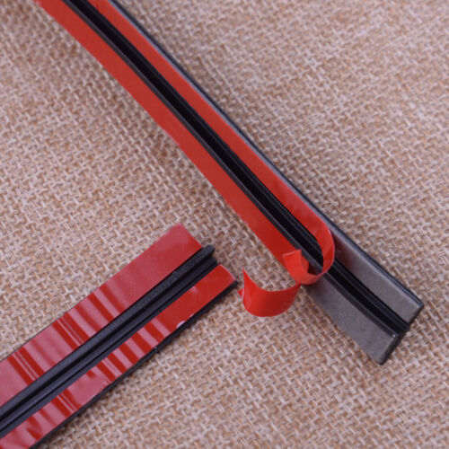 """New 118/"""" Car Front Rear Windshield Sunroof Weatherstrip Rubber Seal Strip Trim"""