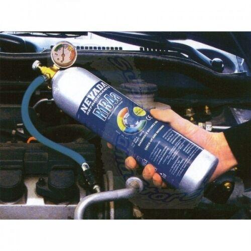 3S Kältemittel R134a 900 gr Gas DIY KIT für Kfz mit Manometer für diagnostische