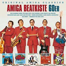 DIE AMIGA BEAT KISTE (AMIGA IN DEN 60ERN)  5 CD NEU