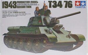 Tamiya-1-35-RUSSIAN-T-34-76-TANK-Plastic-Kit-TAM35059