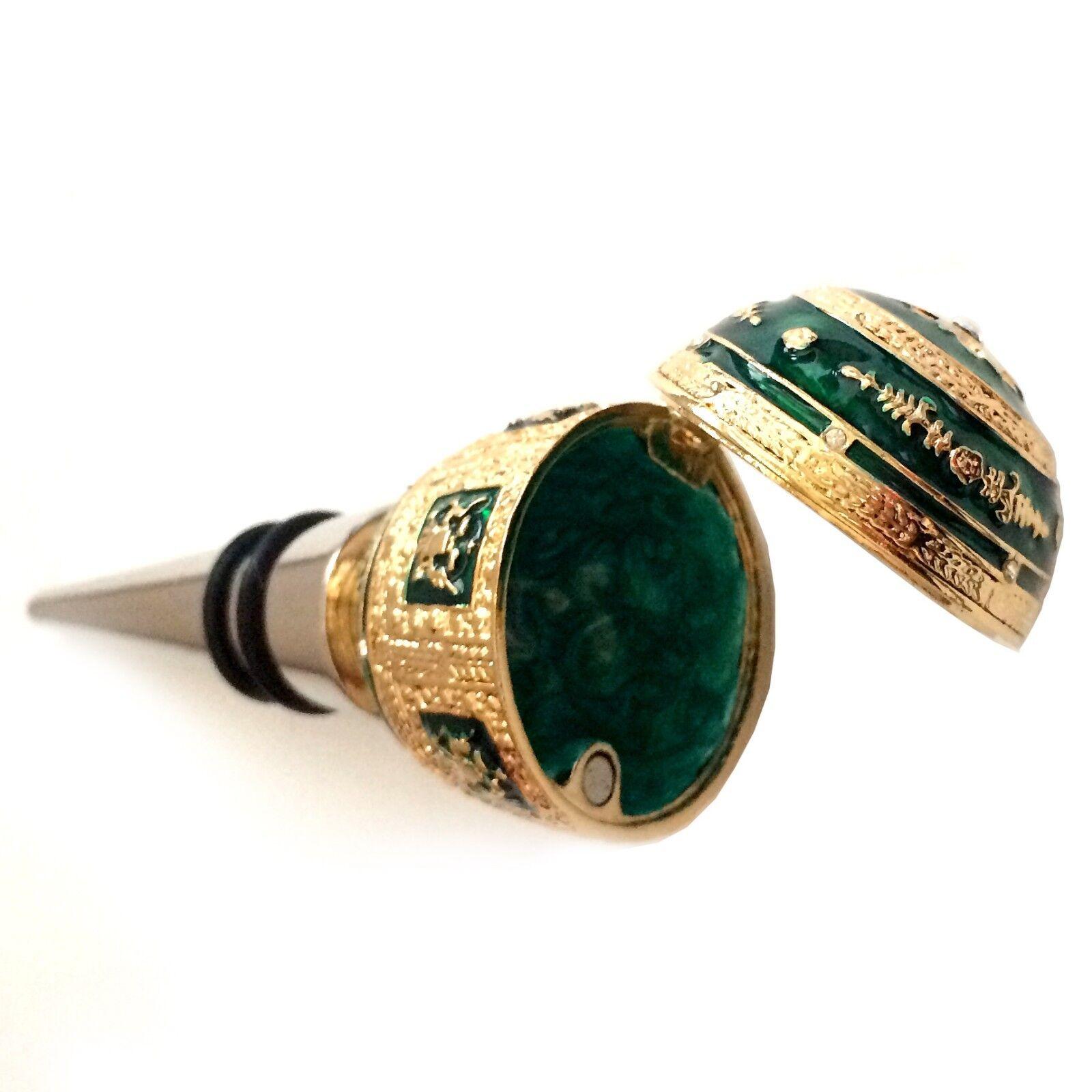 Bouchon original pour bouteille vin - Oeuf Napoléonien Fabergé - Bouchon déco