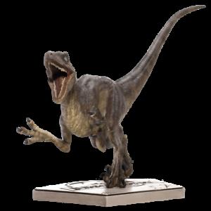 Jurassic Park Velociraptor Attack 1:10 Scale Statue-IRO73630-IRON STUDIOS