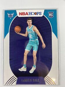 2020 - 21 NBA Hoops Lamelo Ball Rookie RC #223 Charlotte Hornets