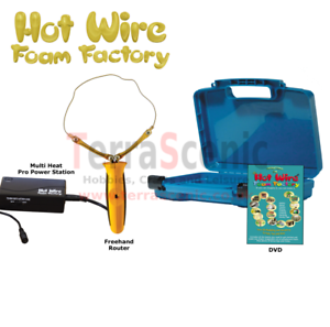 Hot Wire Foam Factory Polystyrene EPS Cutter PRO FREEHAND ROUTER