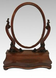 Large-Antique-Victorian-dressing-table-toilet-swing-mirror-2372L