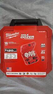16-Piece Milwaukee Hole Dozer Hole Saw Kit 49-22-4028