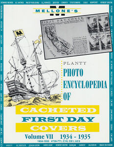 Mellone-039-s-Planty-Photo-Encyclopedia-of-Cacheted-FDCs-Volume-VII-1934-35-issues