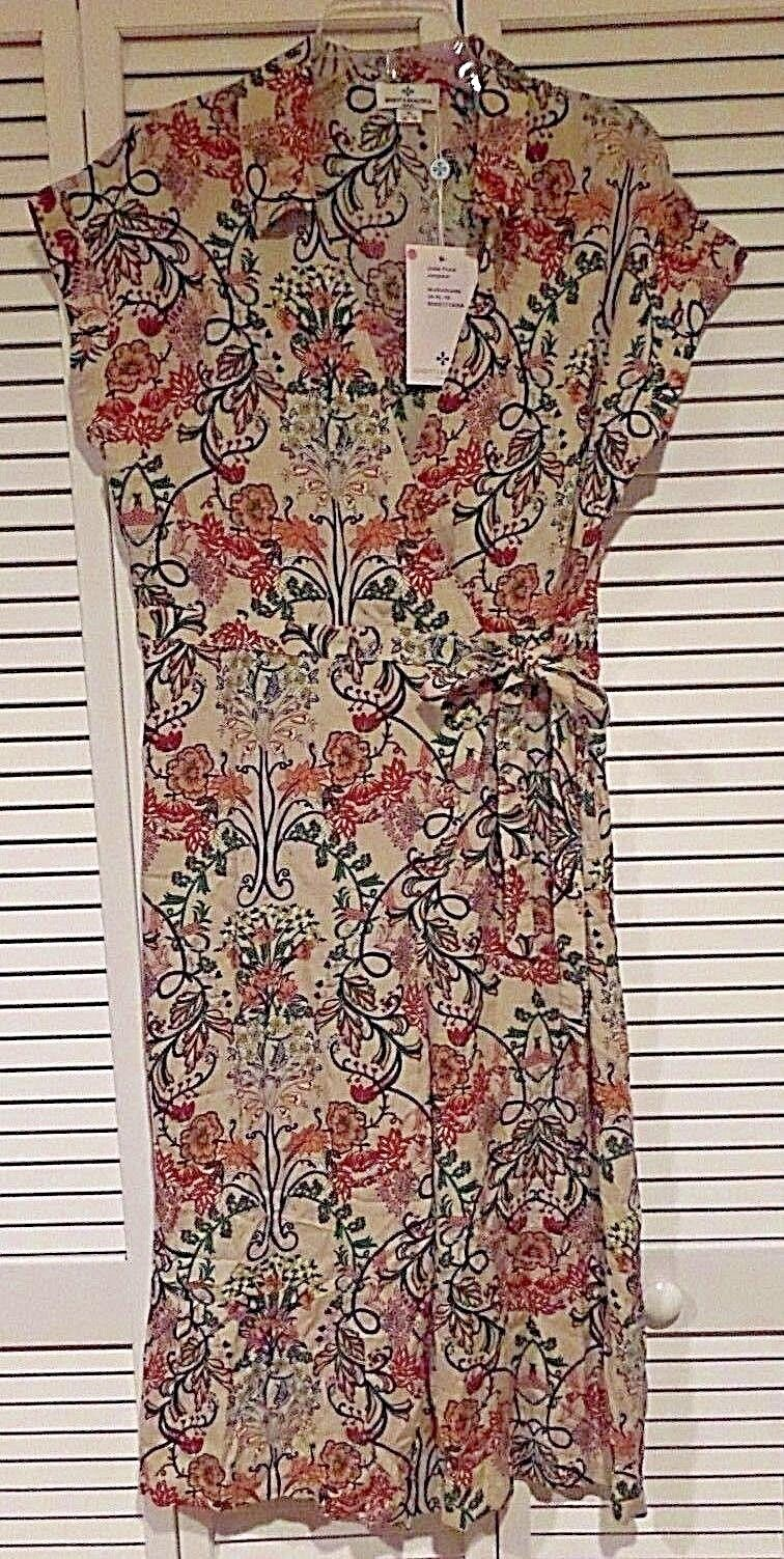 Bright & Beautiful Jodie Floral Jumpsuit Romper 70's Inspired Sz XL US 12