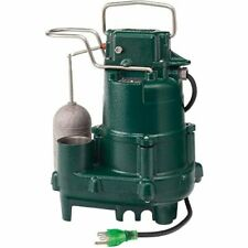 Zoeller M95 12 Hp Premium Cast Iron Submersible Sump Pump With Vertical Floa