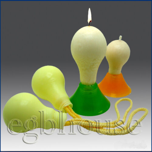 light Bulb size small 3D Silicone Soap Candle Mold