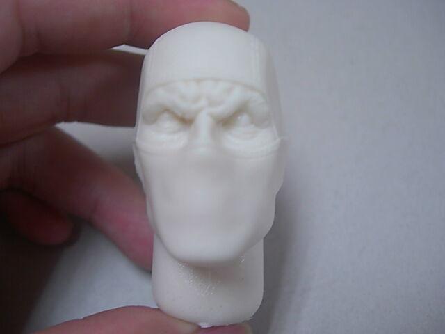 "1/6 Scale Custom G.I.Joe Firefly Resin Head sculpt for 12"" action figure use"