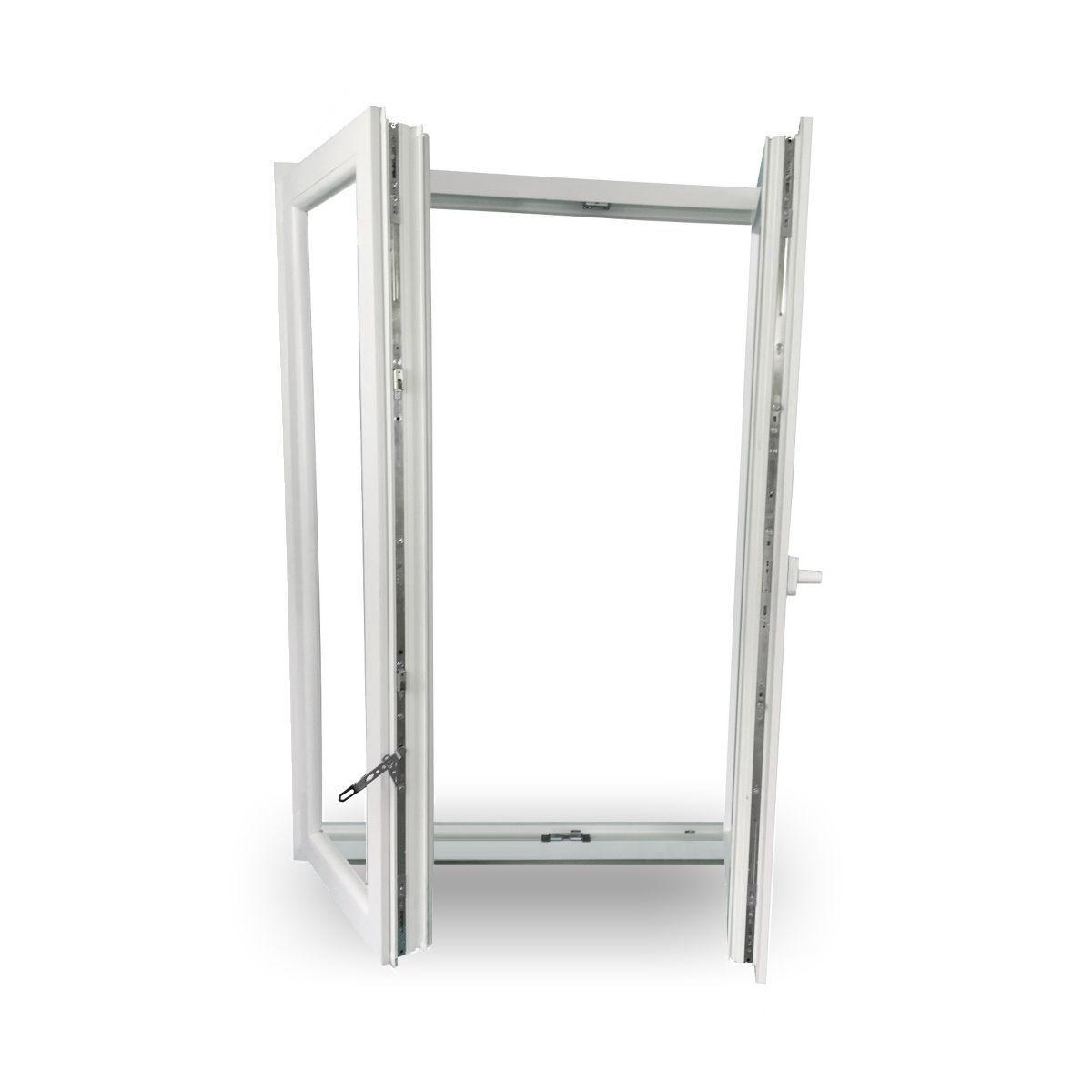Fenster Kunststofffenster Stulpfenster 2-Flügel 3-Fach Verglasung ABVERKAUF