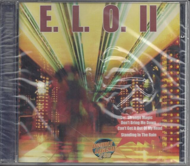 2CD ♫ Compact Disc Electric Light Orchestra ~ E. L. O. II ~ Double Legend Neuf