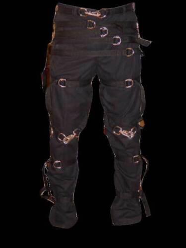 "Goth Punk /""straight jacket style/""gothic pants 30 X 30"