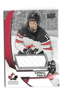 2019-20-UD-Team-Canada-Juniors-Samuel-Poulin-9-Exclusives-Jersey-Patch