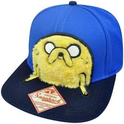 Adventure Time 3d Furry Jake Verstellbar Snapback Bill Constructed Mütze SorgfäLtige Berechnung Und Strikte Budgetierung Weitere Ballsportarten