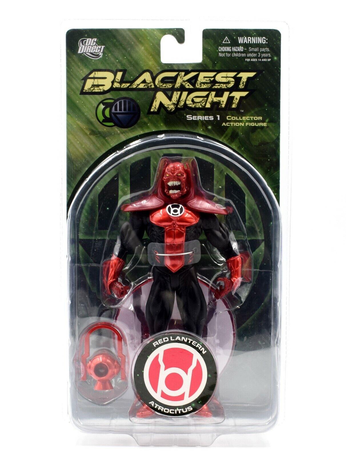 DC-negroest Night serie 1 Direct-Rojo Linterna Atrocitus Figura De Acción