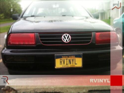 Rtint Headlight Tint Precut Smoked Film Covers for Volkswagen Jetta 1993-1998