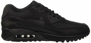 Details about Nike Air Max 90 Essential Black Black 537384 090 Trainers