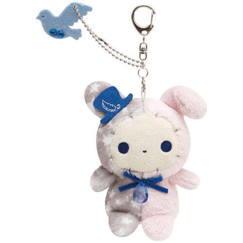 Sentimental Circus Spica Keychain Key Holder Blue birds Memorabilia San-X Japan