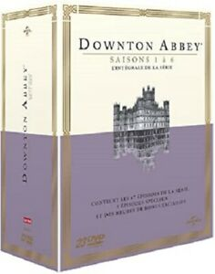 COFFRET DVD SERIE : DOWNTON ABBEY - L'INTEGRALE DE L'HISTOIRE : SAISONS 1 A 6