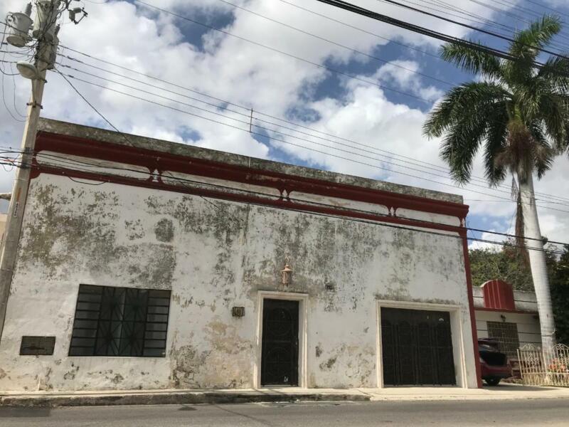 En venta casa en el centro de Mérida, con excelente ubicación!