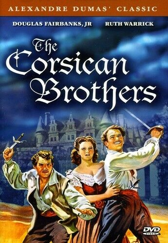 The Corsican Brothers [New DVD] Black & White, Full Frame, Subtitled