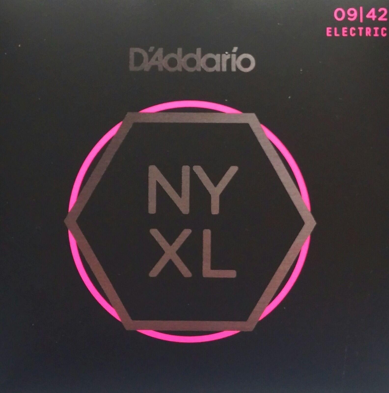 5 Sets  D'Addario NYXL0942 NY XL Electric Guitar Strings NYXL 0942 Free US Ship